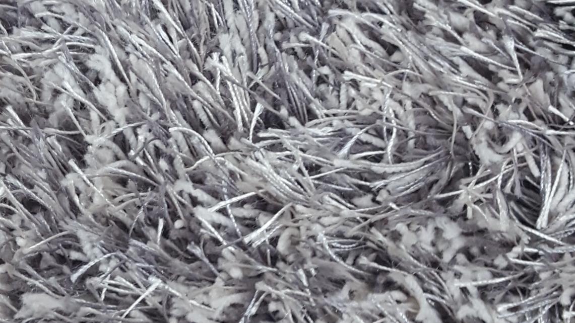TD2400 21 Grey White Luxury Shag