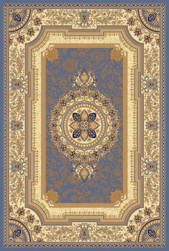 6x8 4342 Blue Ivory New Classic