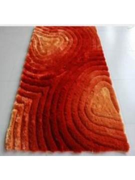 15 Orange 3D Shag