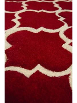 6x8 179 Red Cream Ravenna / Retro
