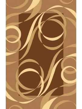 6x8 7695 Brown Dark Yellow Jr Carving