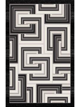 10x13 7761 Black Dark Grey Jr Carving