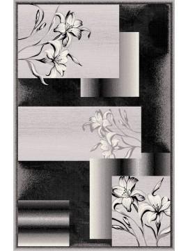 10x13 7768 Black Dark Grey Jr Carving