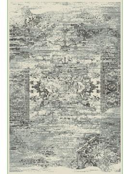 8x11 462 Gardenia Silver Blue Retro